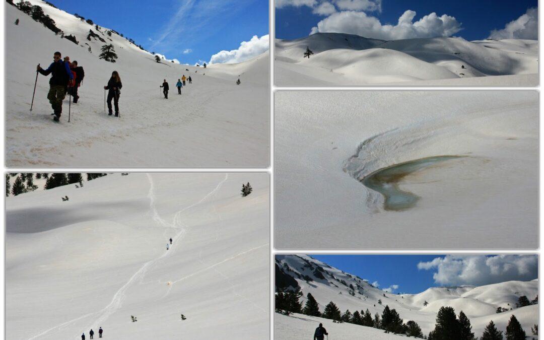 ΚΟΝΙΤΣΑ-Από την Αγία Παρασκευή,στην χιονισμένη Δρακόλιμνη του Σμόλικα!