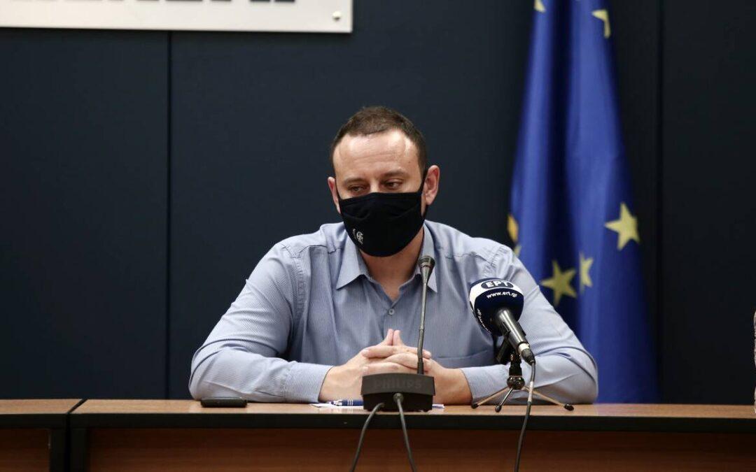 Γκ. Μαγιορκίνης: Οαριθμός των ενεργών κρουσμάτων στην επικράτεια παρουσιάζει εύθραυστησταθεροποίηση