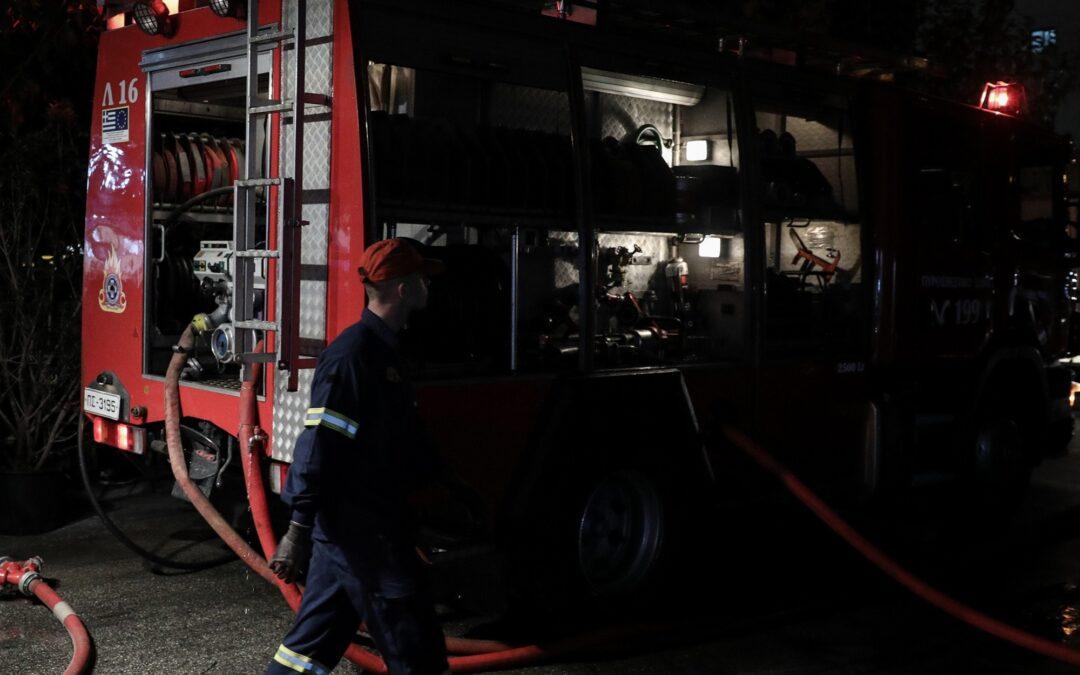 ΓΙΑΝΝΕΝΑ-Πυρκαγιά σε κατάστημα