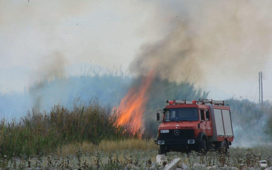 Σε 58 ανήλθαν οι δασικές πυρκαγιές που εκδηλώθηκαν το τελευταίο 24ωρο σε όλη την Ελλάδα