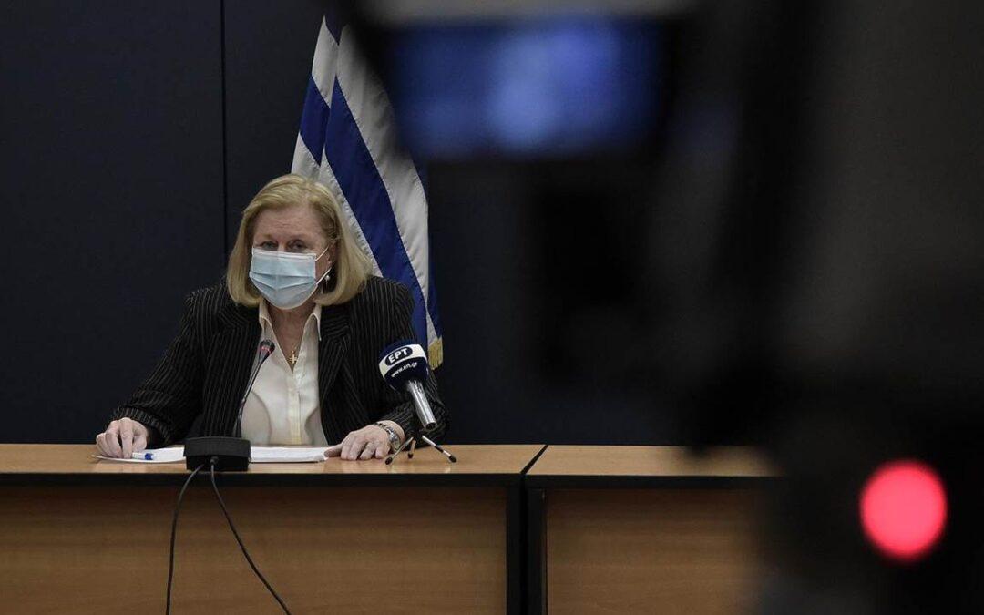 Θεοδωρίδου: Ελάχιστες και ήπιες οι παρενέργειες του εμβολίου και στην Ελλάδα