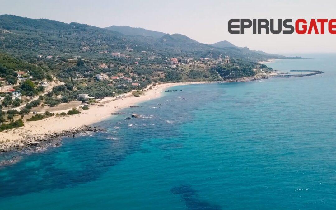 ΠΡΕΒΕΖΑ-Η παραλία της Λυγιάς,με τα καταγάλανα νερά