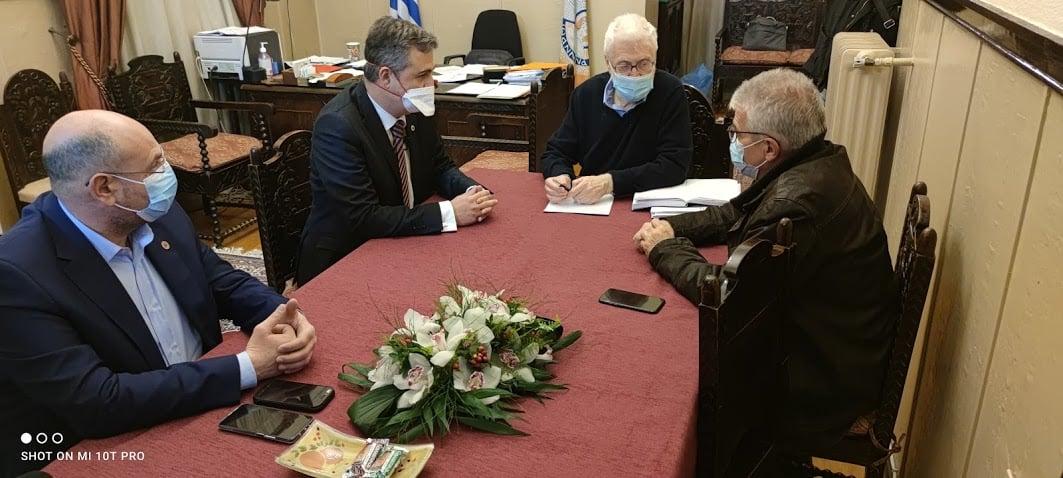 ΔΗΜΟΣ ΙΩΑΝΝΙΤΩΝ- Σύσκεψη με το Γενικό Γραμματέα του Υπουργείου Υγεία