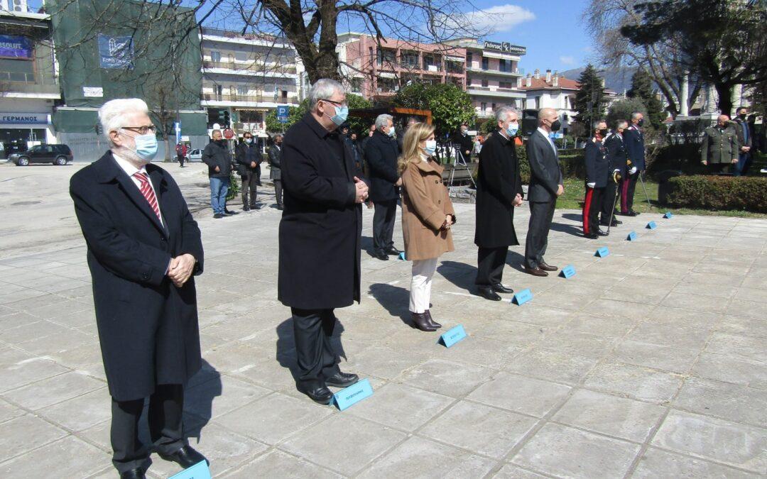 ΓΙΑΝΝΕΝΑ-Με την κατάθεση στεφάνων κορυφώθηκαν οι εκδηλώσεις για τα 200 χρόνια από την κήρυξη της Ελληνικής Επανάστασης