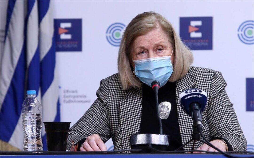 Μ. Θεοδωρίδου: Σύσταση για το εμβόλιο AstraZeneca στους άνω των 60 ετών