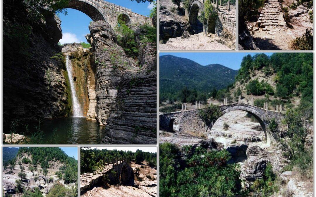 Το Γεφύρι του Γκρέτσι στο χωριό Παλαιόπυργος Πωγωνίου