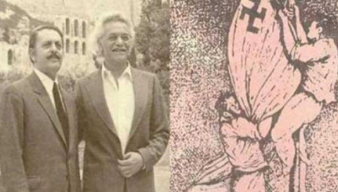 Σαν σήμερα 30 Μαΐου:Ο Μανώλης Γλέζος και ο Λάκης Σάντας κατεβάζουν τη σβάστικα από την Ακρόπολη