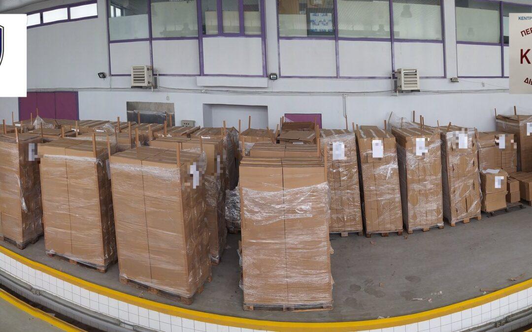 Μία ακόμα επιτυχία του Λιμεναρχείου Ηγουμενίτσας – Κατασχέθηκαν 369.860 πακέτα τσιγάρων