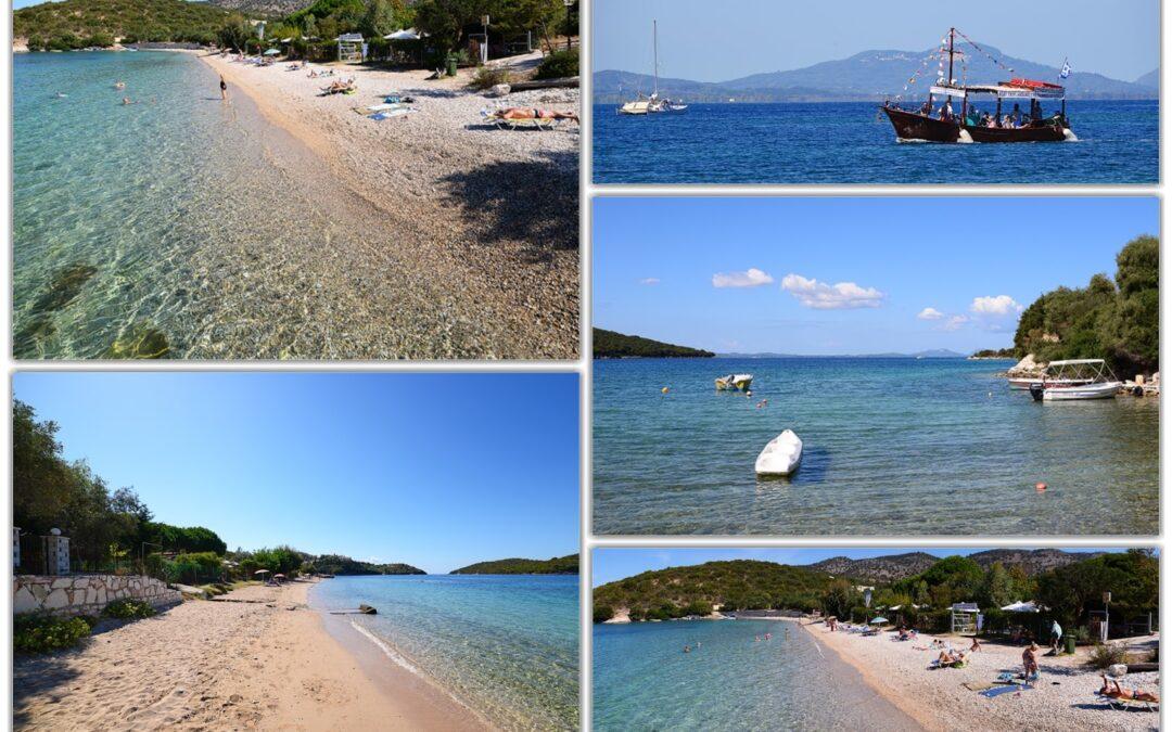 ΘΕΣΠΡΩΤΙΑ-Η παραλία του Γαλλικού Μώλου στα Σύβοτα