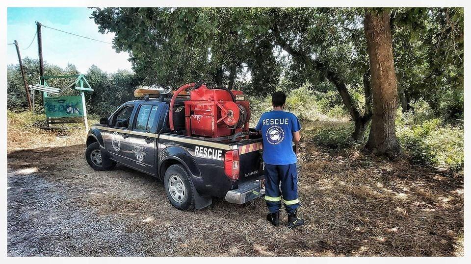 ΠΡΕΒΕΖΑ-Σε επιφυλακή πυροσβεστική, δήμοι και συναρμόδιες υπηρεσίες