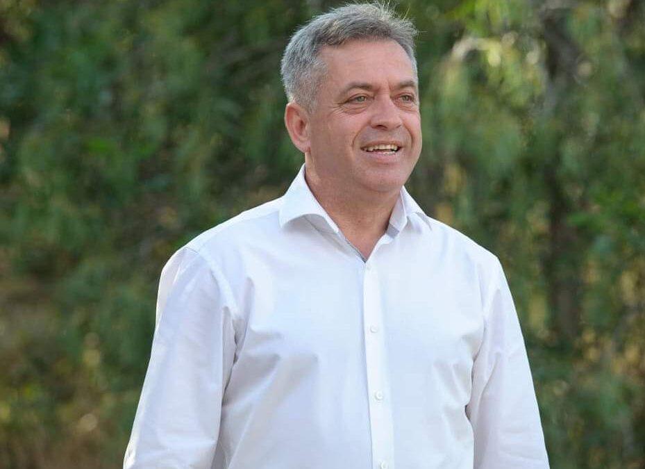 Η Πρόεδρος της Δημοκρατίας, συνάντησε τον δήμαρχο του Δήμου Γεωργίου Καραϊσκάκη Περικλή Μίγδο