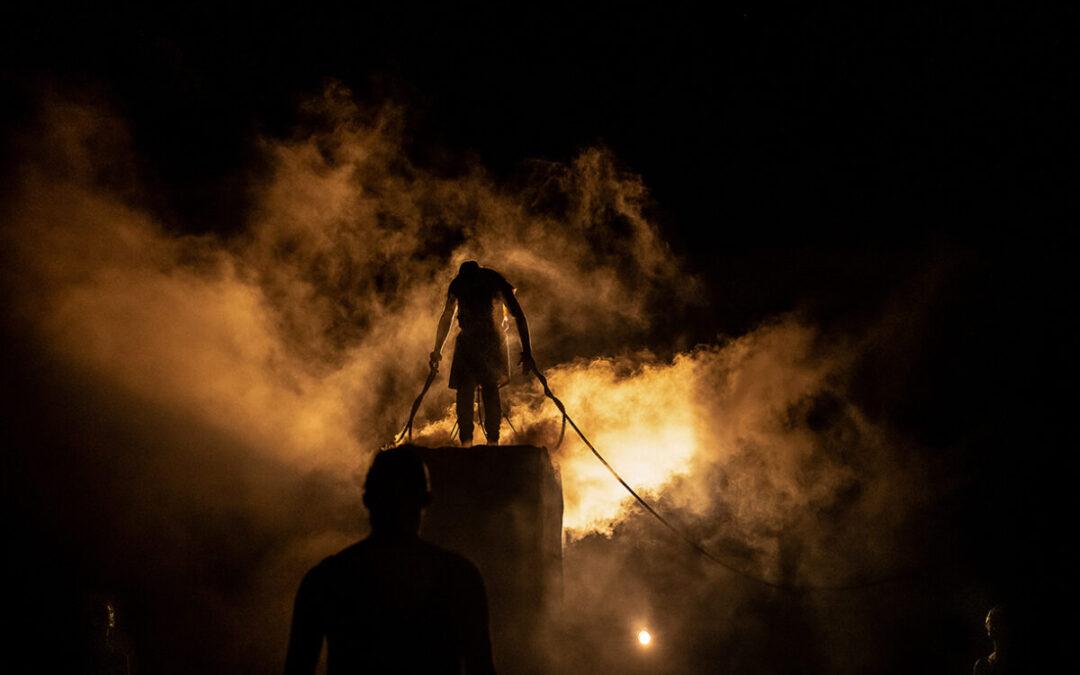 ΓΙΑΝΝΕΝΑ-Ο «Προμηθέας Δεσμώτης» του Αισχύλου στο θέατρο της ΕΗΜ