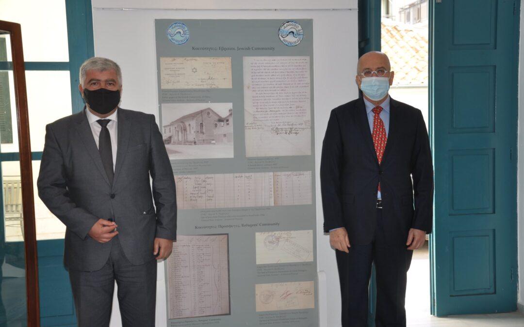 Επίσημη επίσκεψη του Πρέσβη του Ισραήλ στο Δήμο Πρέβεζας