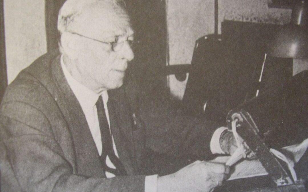 1940: Κώστας Σταυρόπουλος, η φωνή της Ελληνικής ιστορίας